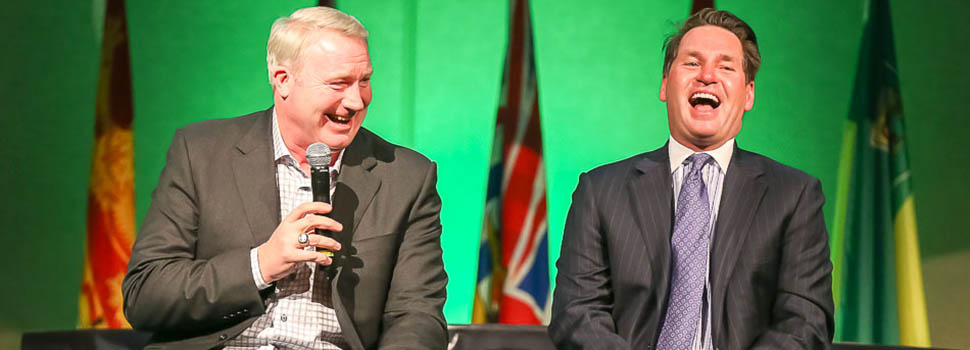 2014 Sasktel CIS Awards Gala with Kelly Hrudey and Marty McSorley