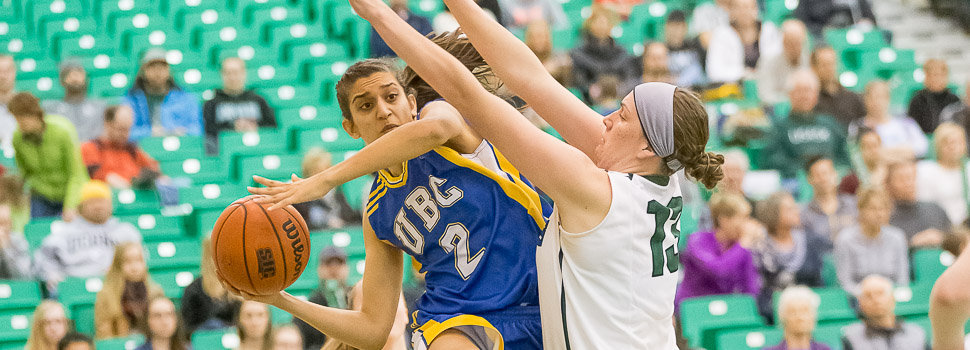 WBB - CanWest Quarter-Final vs UBC (Game 1)