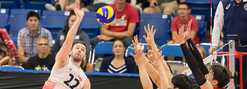 FIVB World League Volleyball - Canada vs Korea