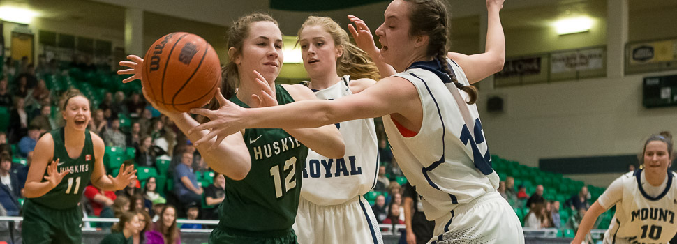 WBB vs Mount Royal Cougars