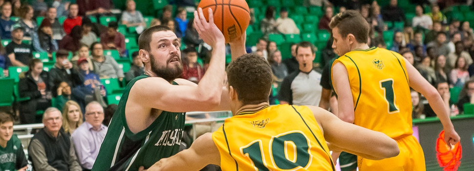 MBB vs Alberta Golden Bears (Fifth Year Night)