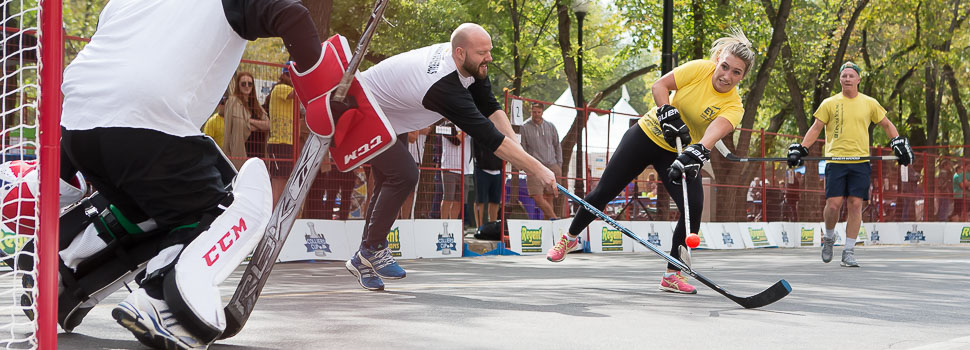 Colliers Charity Street Hockey Tournament
